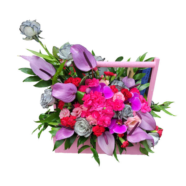 باکس گل مدل دسته دار
