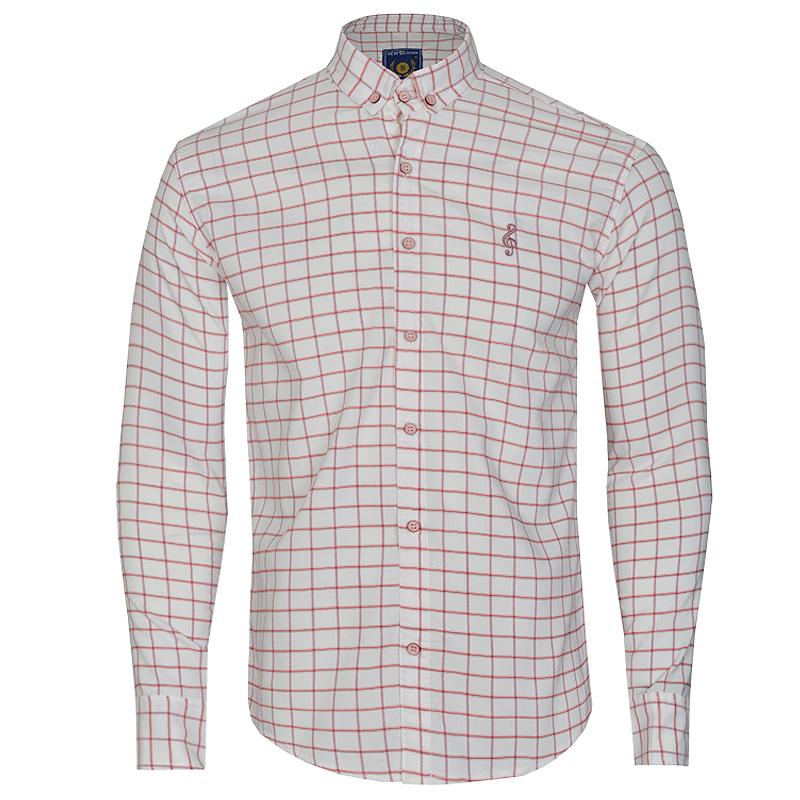 پیراهن آستین بلند مردانه مدل BMBT1011-4