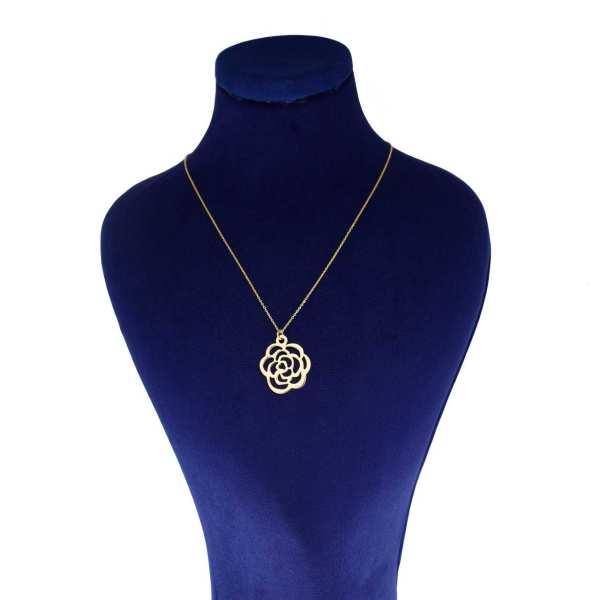 گردنبند طلا 18 عیار زنانه کانیار گالری کد GAR20