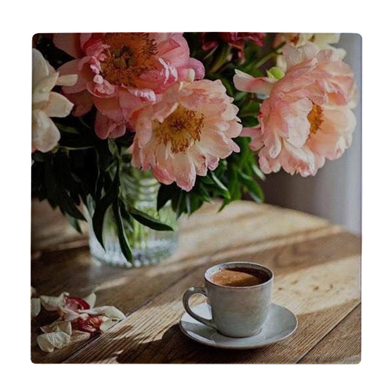خرید                      کاشی طرح گلدان و فنجان کد wk556