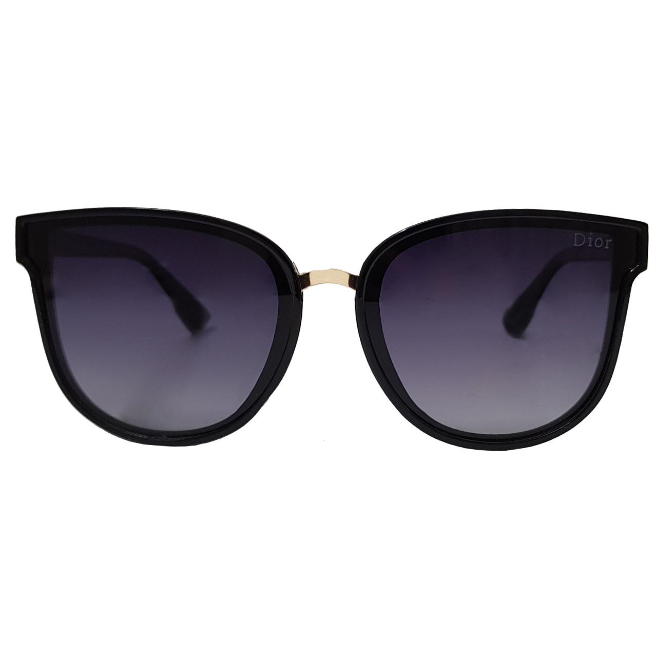 عینک آفتابی زنانه دیور کد 3030D1