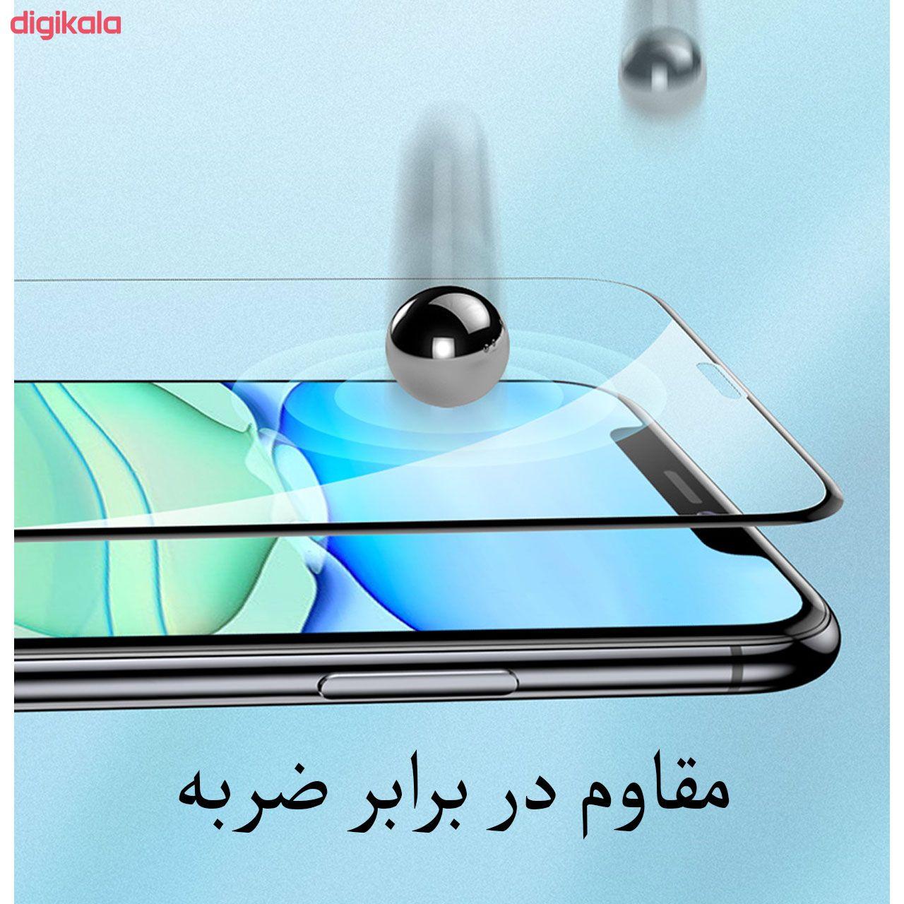 محافظ صفحه نمایش مدل FCG مناسب برای گوشی موبایل اپل iPhone 12 Pro Max بسته دو عددی main 1 8