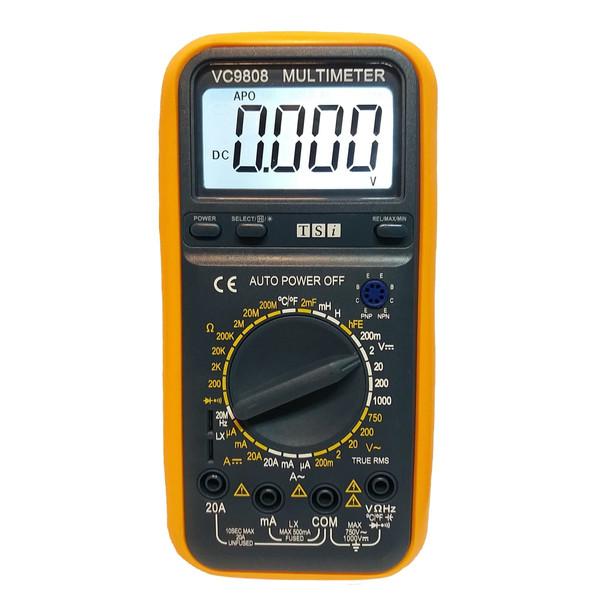 مولتی متر دیجیتال تی اس آی مدل VC9808