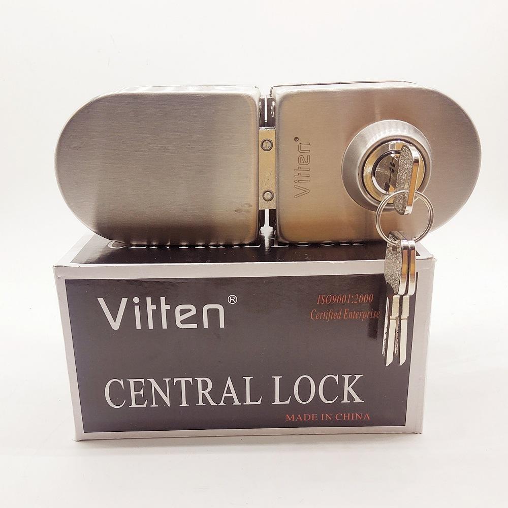 قفل درب شیشه ای ویتن کد 3000