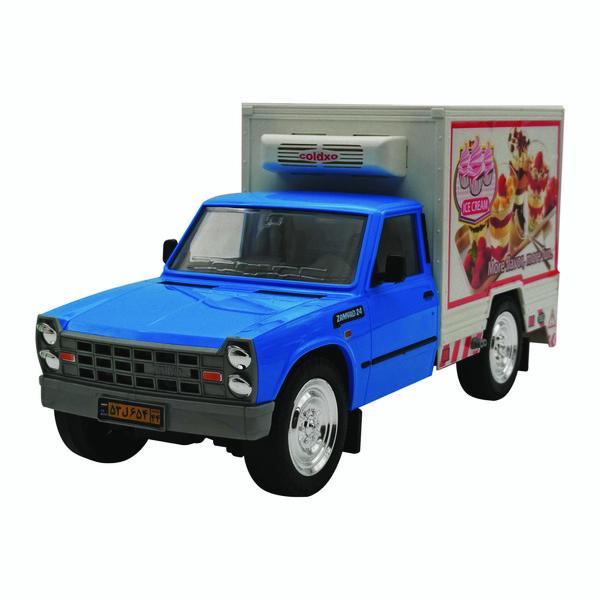 ماشین بازی مدل نیسان وانت یخچال دار SH181