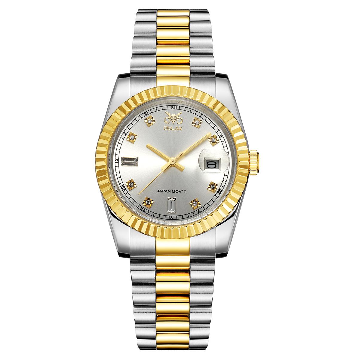 ساعت مچی عقربه ای مردانه اوبلاک مدل 72691              ارزان