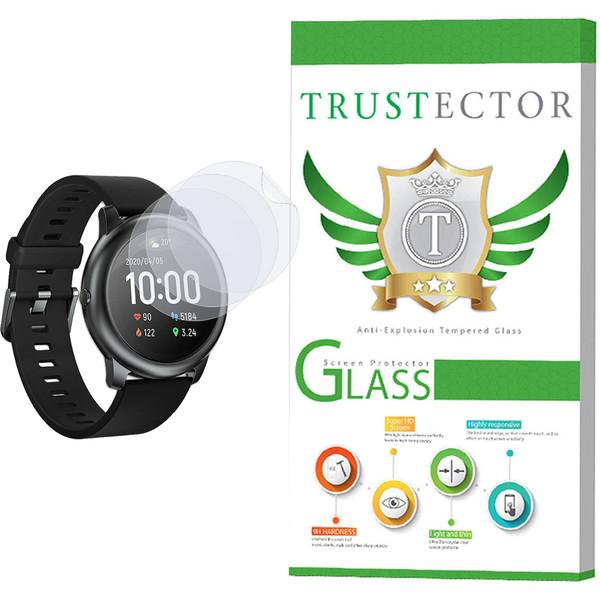 محافظ صفحه نمایش نانو تراستکتور مدل GNF مناسب برای ساعت هوشمند شیائومی Haylou Solar بسته سه عددی