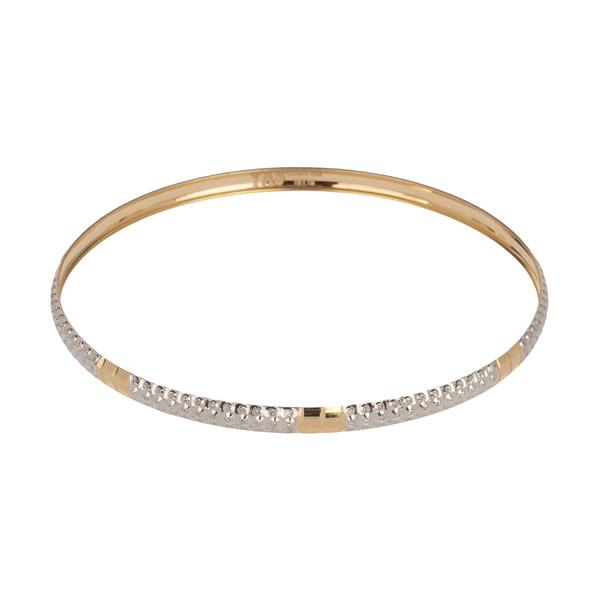 دستبند طلا 18 عیار زنانه مدیسا مدل B3019