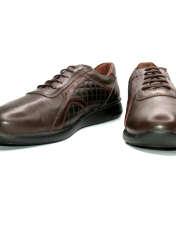 کفش روزمره زنانه آر اند دبلیو مدل 761 رنگ قهوه ای -  - 4