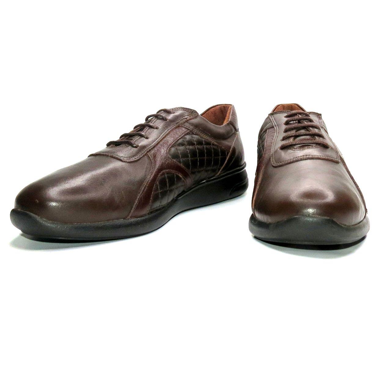 کفش روزمره زنانه آر اند دبلیو مدل 761 رنگ قهوه ای -  - 5
