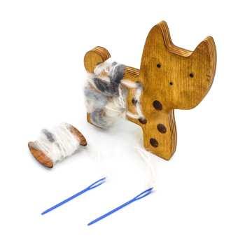 بازی آموزشی کایو مدل چوب بافت