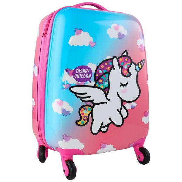چمدان کودک مدل طرح یونی کورن کد 2