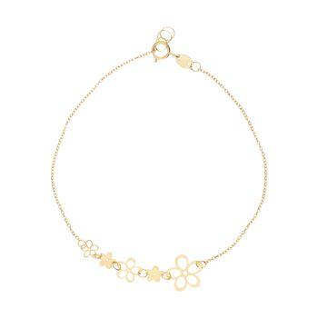 دستبند طلا زنانه مایا ماهک مدل MB1117