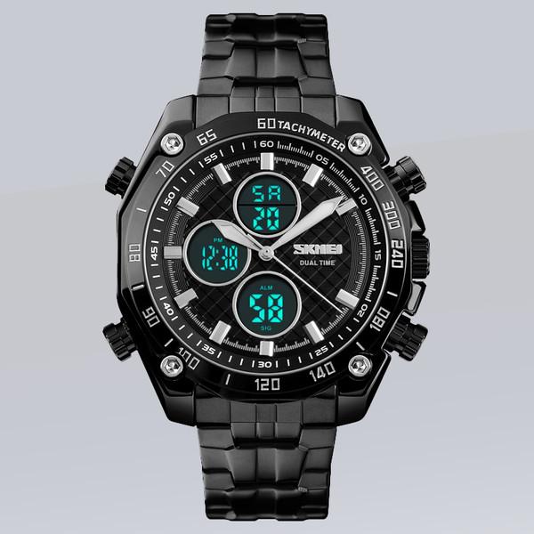 ساعت مچی عقربهای مردانه اسکمی مدل 1302 BK