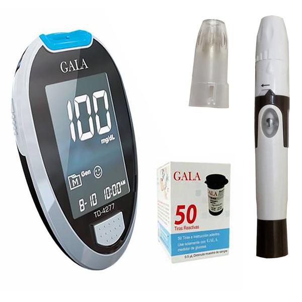 دستگاه تست قند خون گالا کد TD-4277