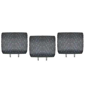 پشت سری صندلی عقب خودرو مدل SP-65 کد 02 مناسب برای پژو 206 بسته 3 عددی
