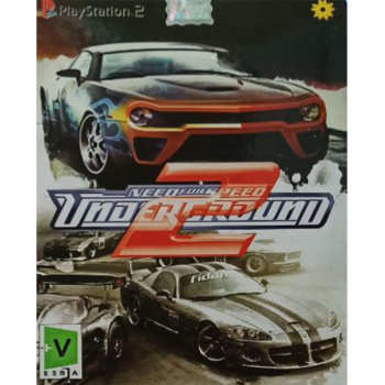 بازی NEED FOR SPEED UNDERGROUD  2 مخصوص PS2