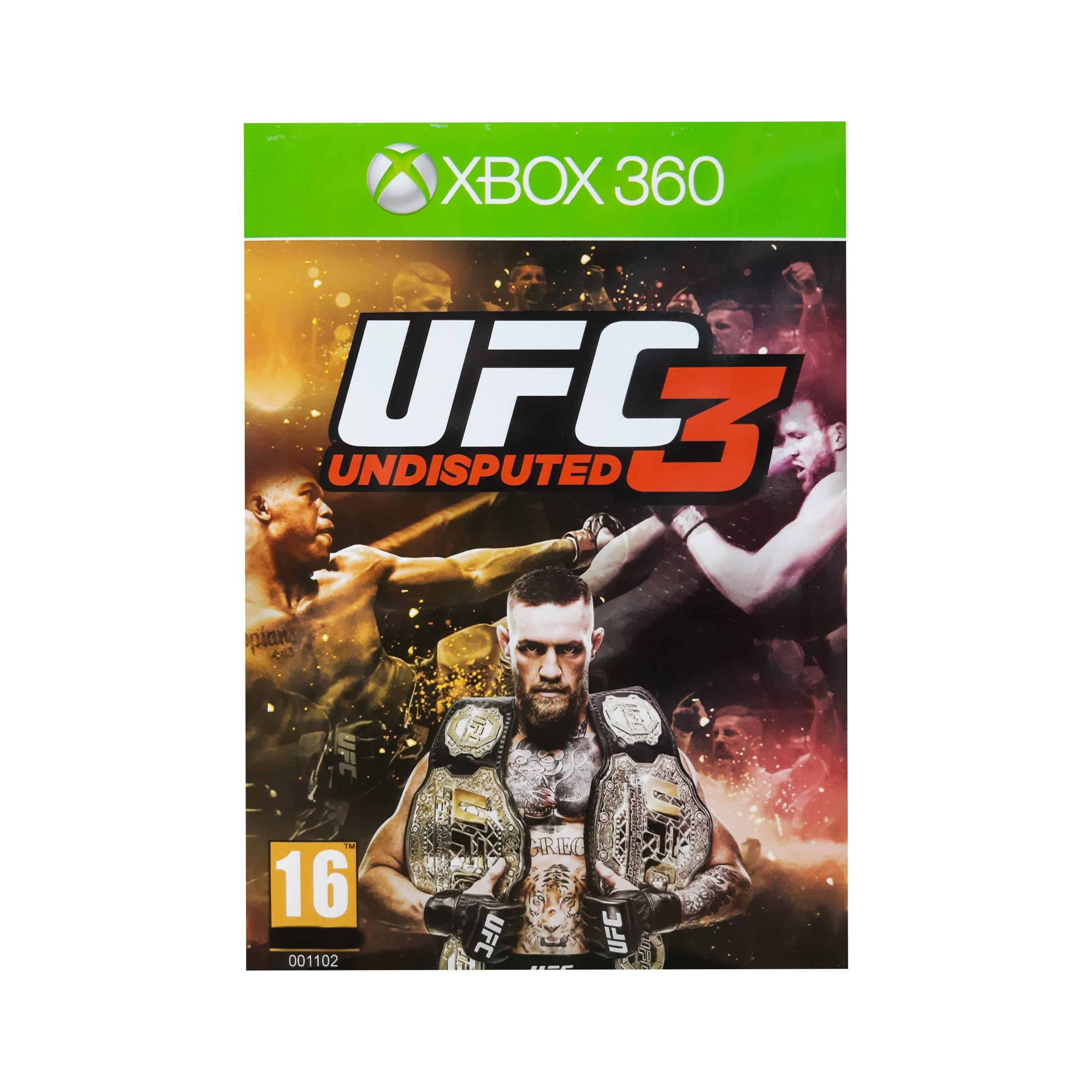 بازی UFC UNDISPUTED 3 مخصوص Xbox 360