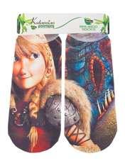 جوراب دخترانه کاتامینو طرح دراگون کد 03 -  - 1
