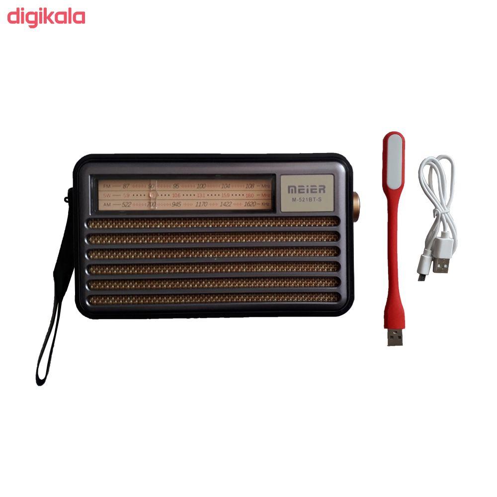 رادیو  می یر مدل M-521BT-S main 1 8