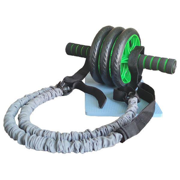 چرخ تمرین شکم مدل S3006 به همراه کش