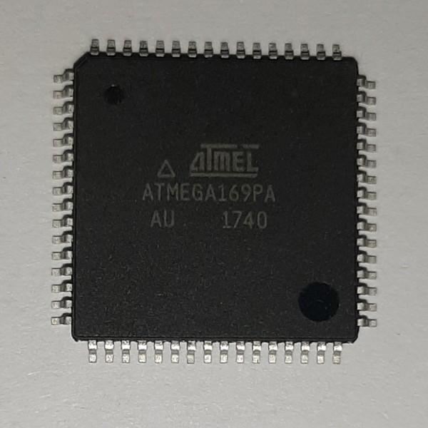 آی سی میکرو کنترلر اتمل مدل ATMEGA169PA-AU بسته دو عددی