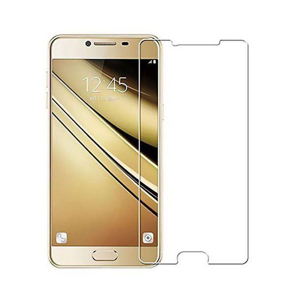 محافظ صفحه نمایش شیشه ای مدل Tempered مناسب برای گوشی موبایل سامسونگ Galaxy C7
