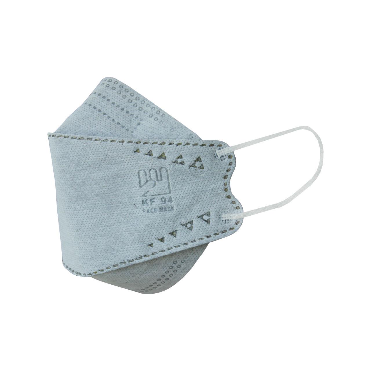 ماسک تنفسی بهسا مدل 3D-BSA-25- Gry بسته 25 عددی