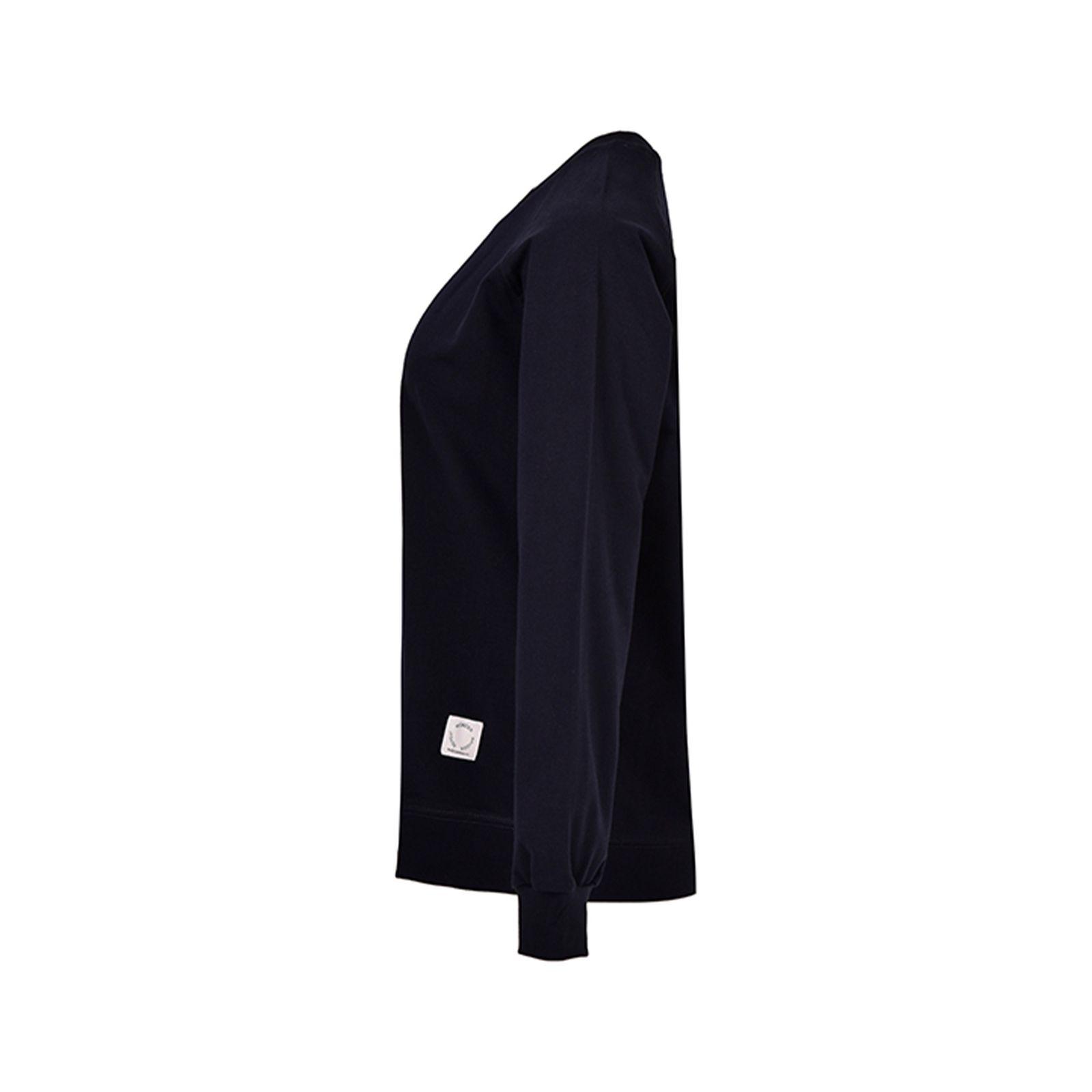 سویشرت زنانه بادی اسپینر مدل 2565 کد 1 رنگ سرمه ای -  - 3