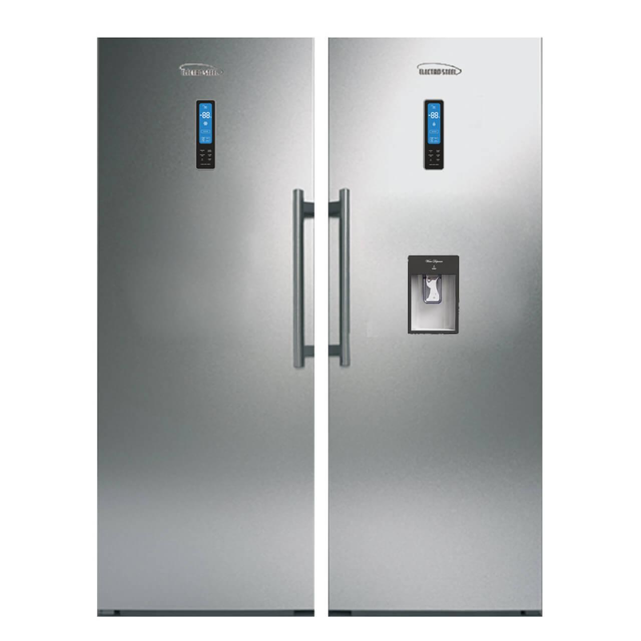 یخچال و فریزر دوقلو الکترواستیل مدل Electro Prime ESR24-ESF24 سری11