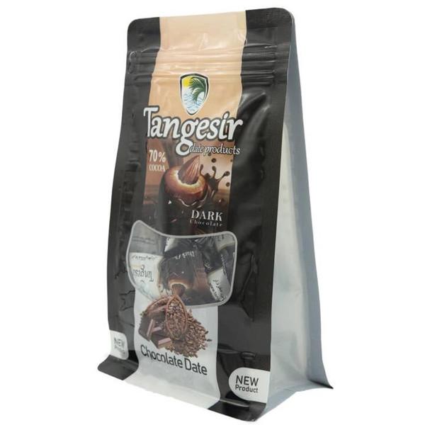 خرما شکلاتی مغزدار تلخ تنگسیر - 250 گرم