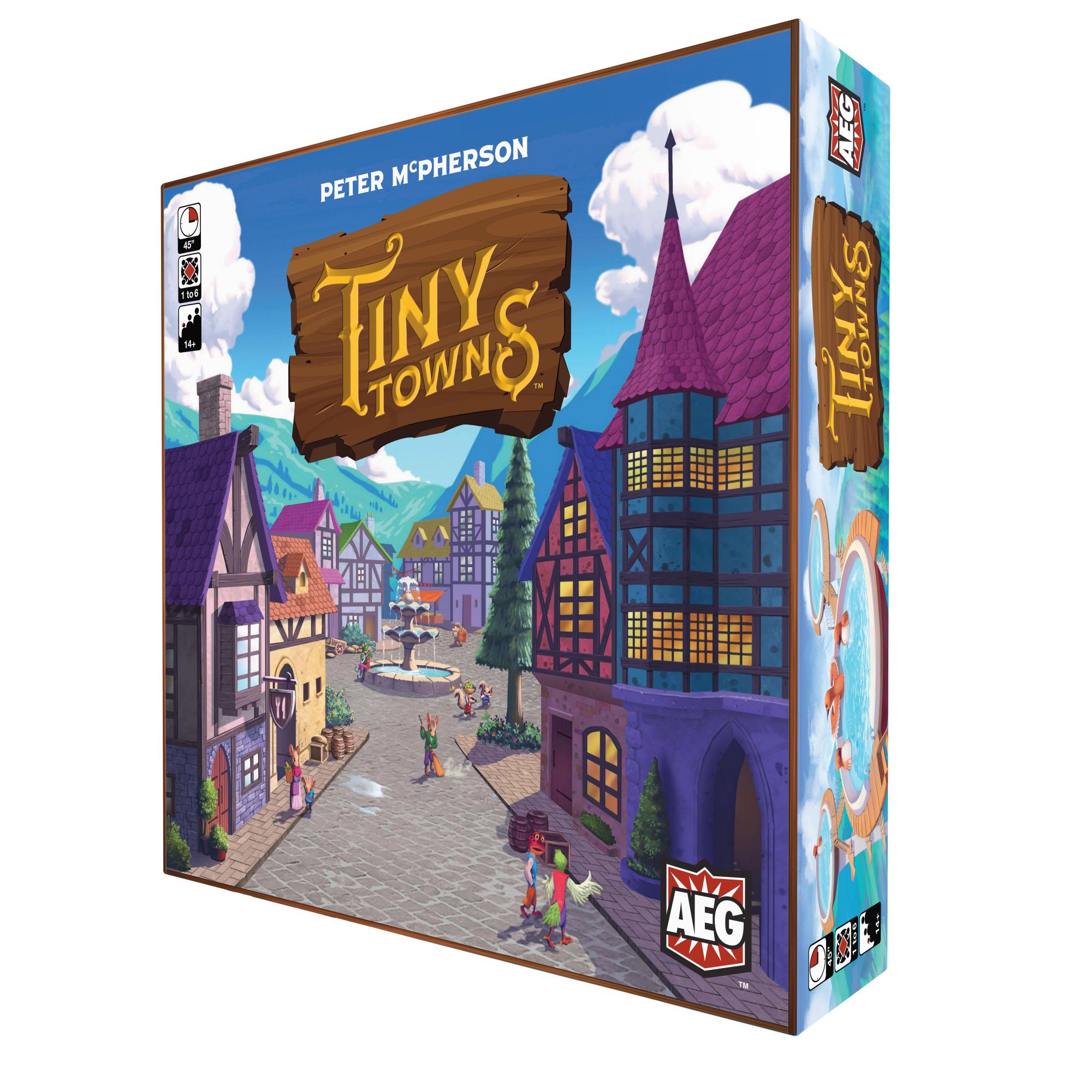 بازی فکری مدل Tiny Towns