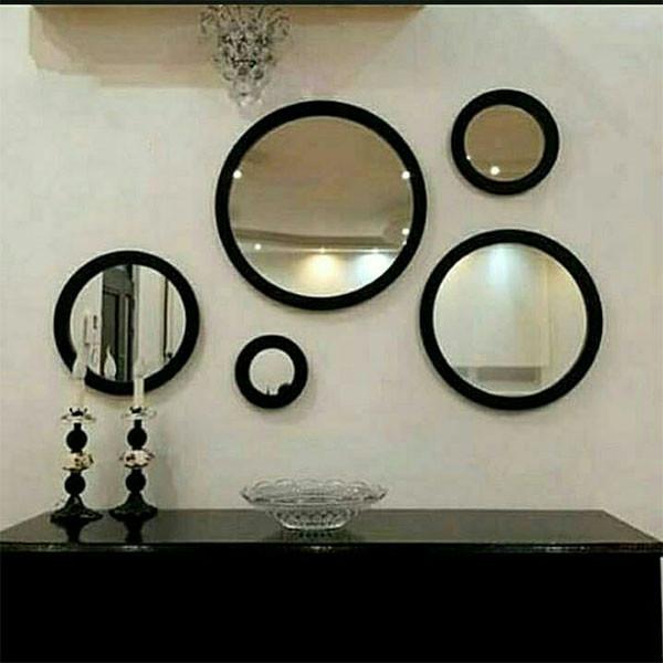 آینه مدل سان مجموعه 5 عددی