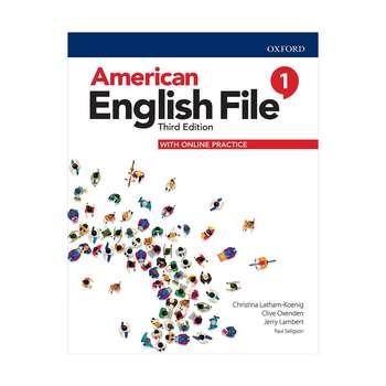کتاب American English File 1  اثر جمعی از نویسندگان انتشارات Oxford
