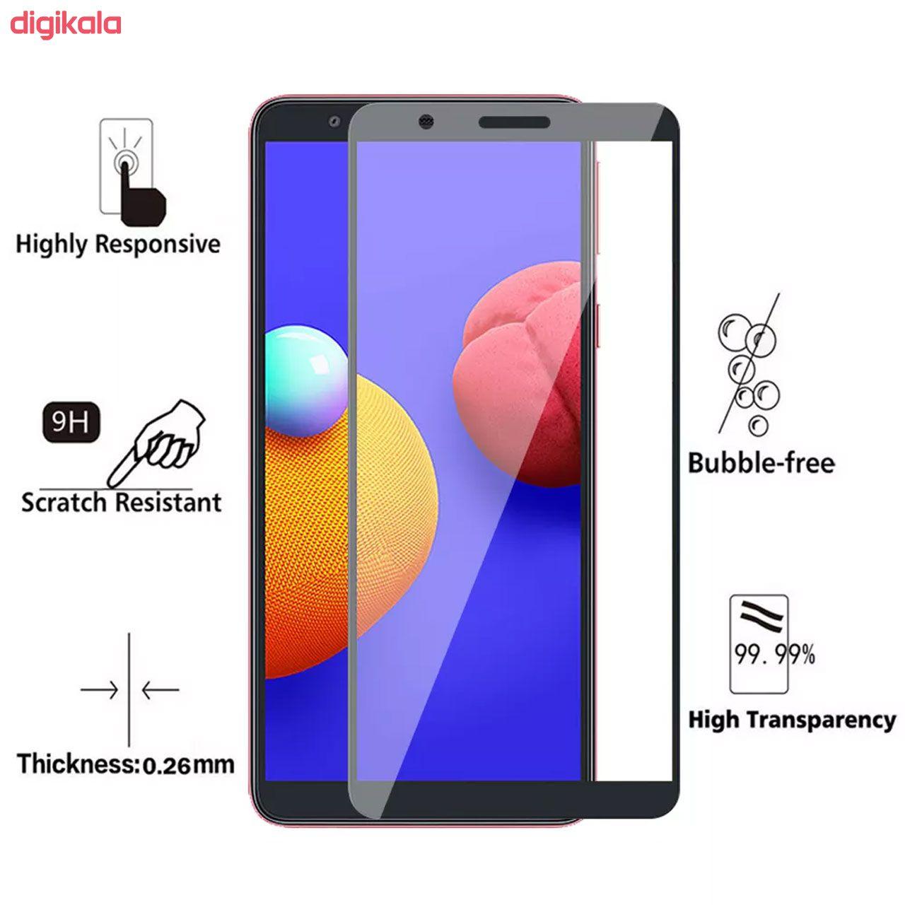 محافظ صفحه نمایش مدل FCG مناسب برای گوشی موبایل سامسونگ Galaxy A01 Core main 1 1