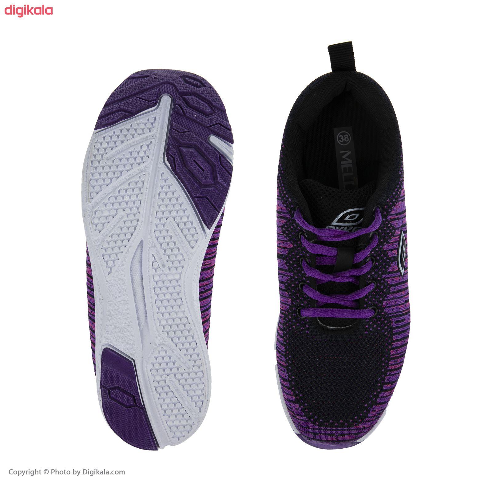کفش مخصوص پیاده روی زنانه ملی مدل 83590572 رنگ بنفش main 1 2