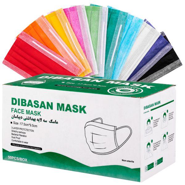 ماسک تنفسی دیباسان مدل melt بسته 50 عددی