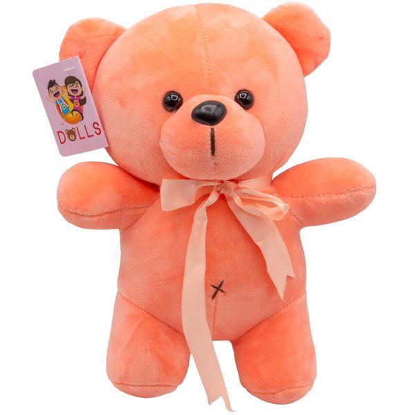 عروسک بی جی دالز طرح خرس بازیگوش ارتفاع 25 سانتی متر
