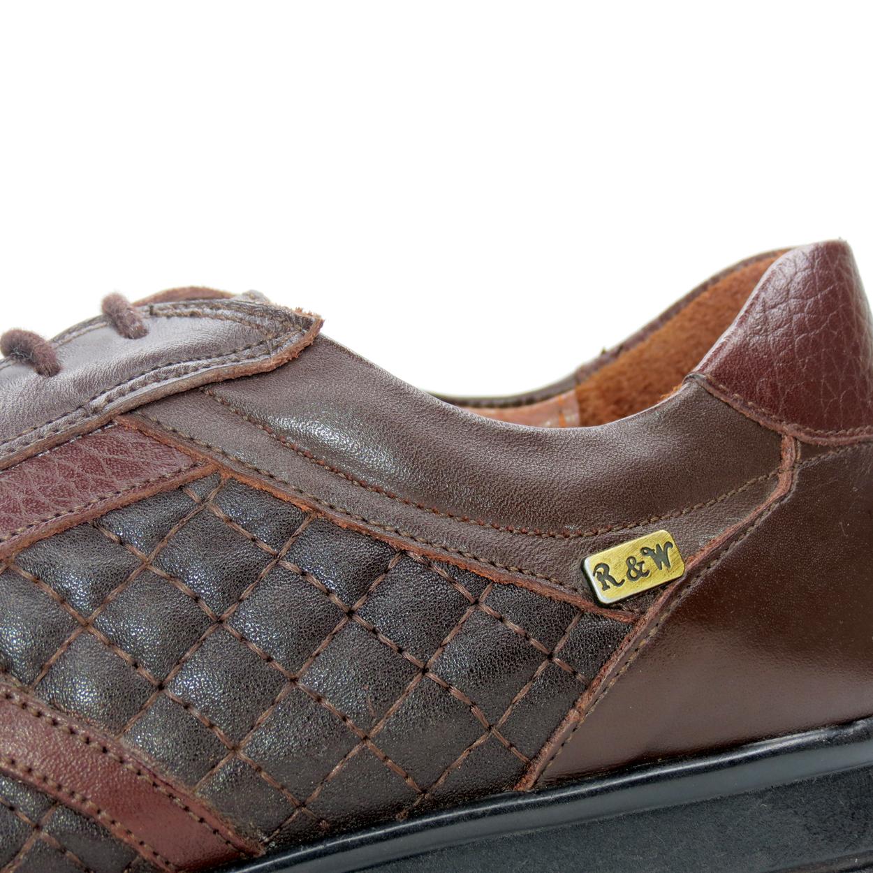 کفش روزمره زنانه آر اند دبلیو مدل 761 رنگ قهوه ای -  - 10