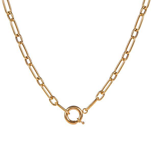 زنجیر طلا 18 عیار زنانه ریسه گالری مدل 5144