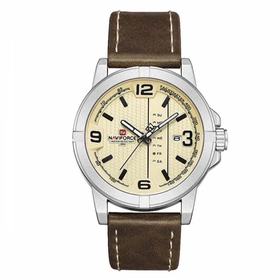 قیمت و خرید                      ساعت مچی عقربهای مردانه نیوی فورس مدل NF9177M - GHA-NO