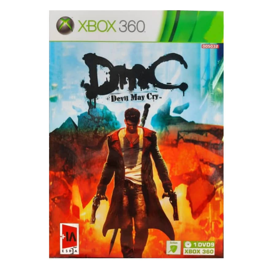 بررسی و {خرید با تخفیف}                                     بازی Devil My Cry DMC مخصوص xbox 360                             اصل