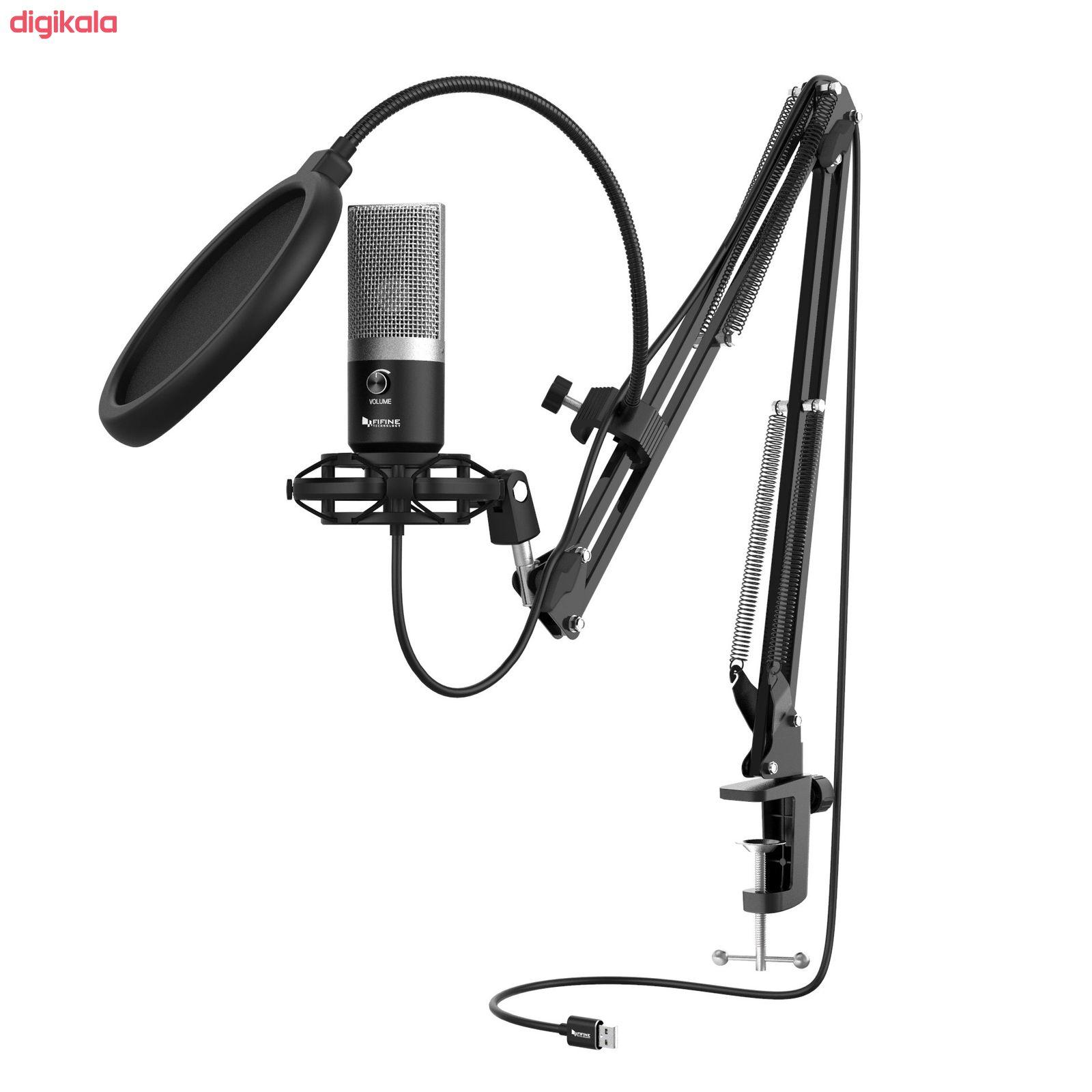 میکروفون کندانسر فای فاین مدل T670 main 1 4