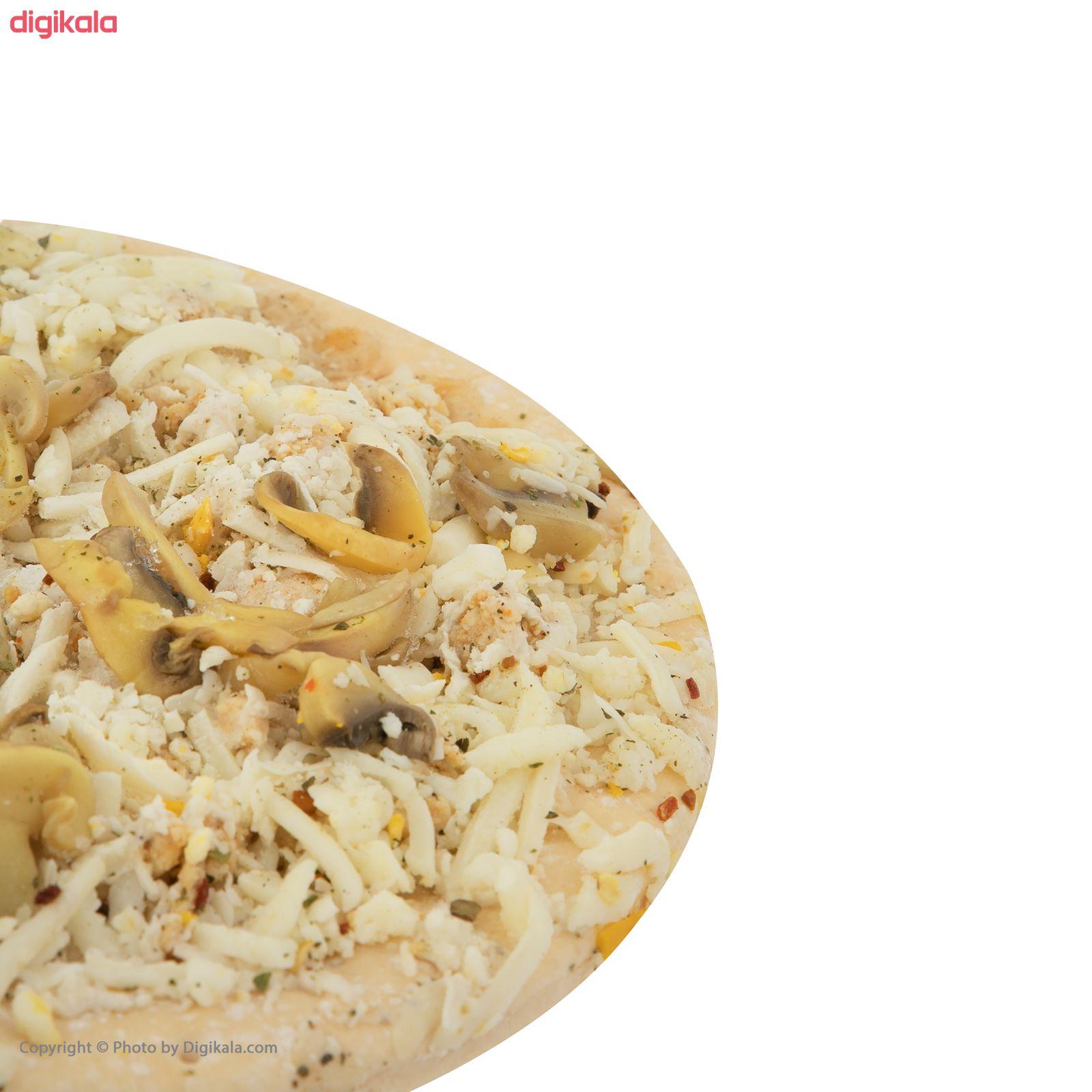 پیتزا چیکن استروگانف پمینا کاله مقدار 450 گرم main 1 2