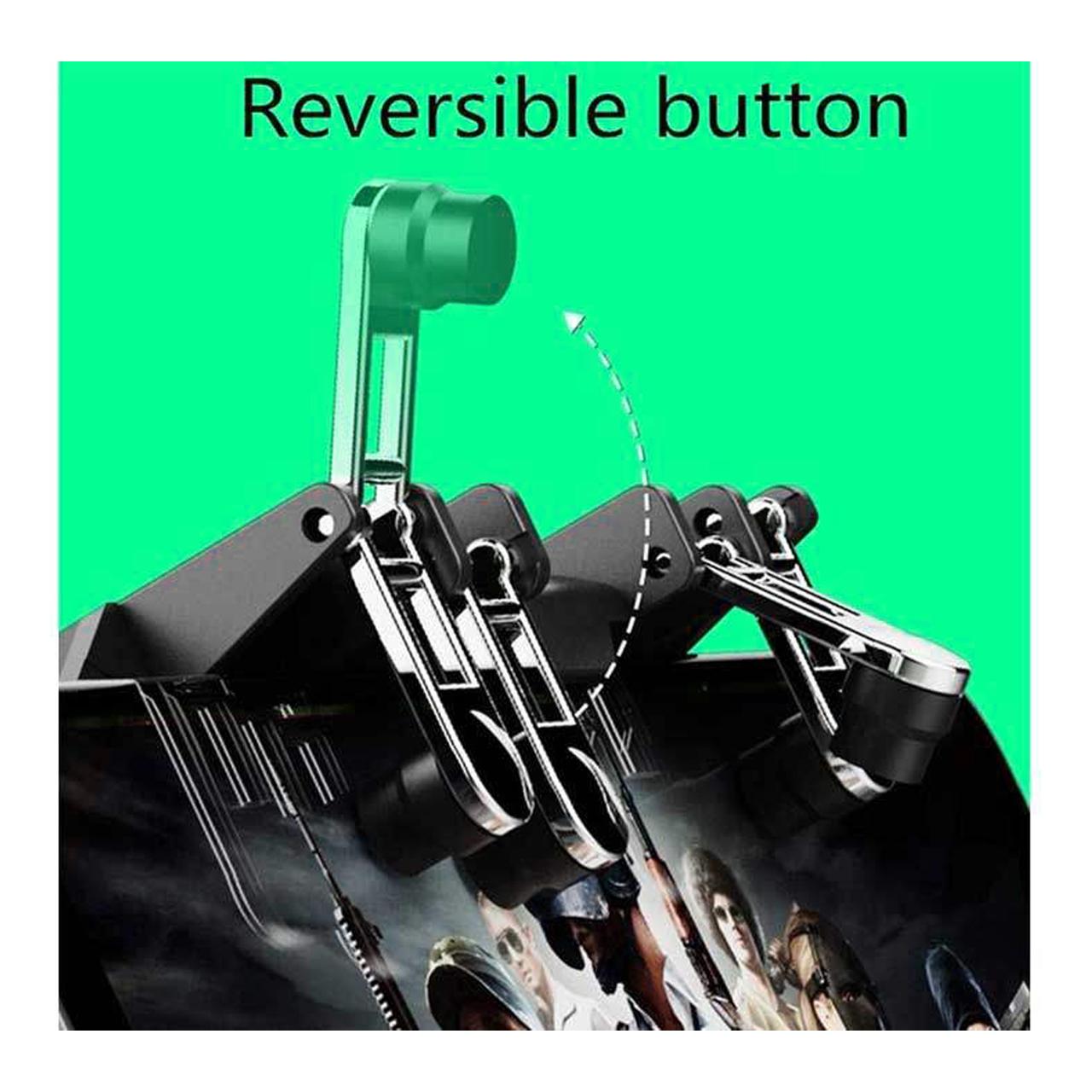 دسته بازی PubG ممو مدل AK66 به همراه آستین کنترل کننده انگشت