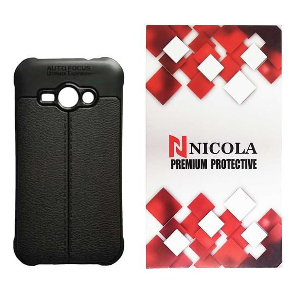 کاور نیکلا مدل N_ATO مناسب برای گوشی موبایل سامسونگ Galaxy J1 Ace