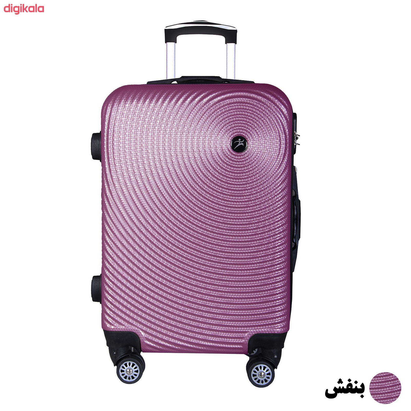 مجموعه چهار عددی چمدان اسپرت من مدل NS001 main 1 10