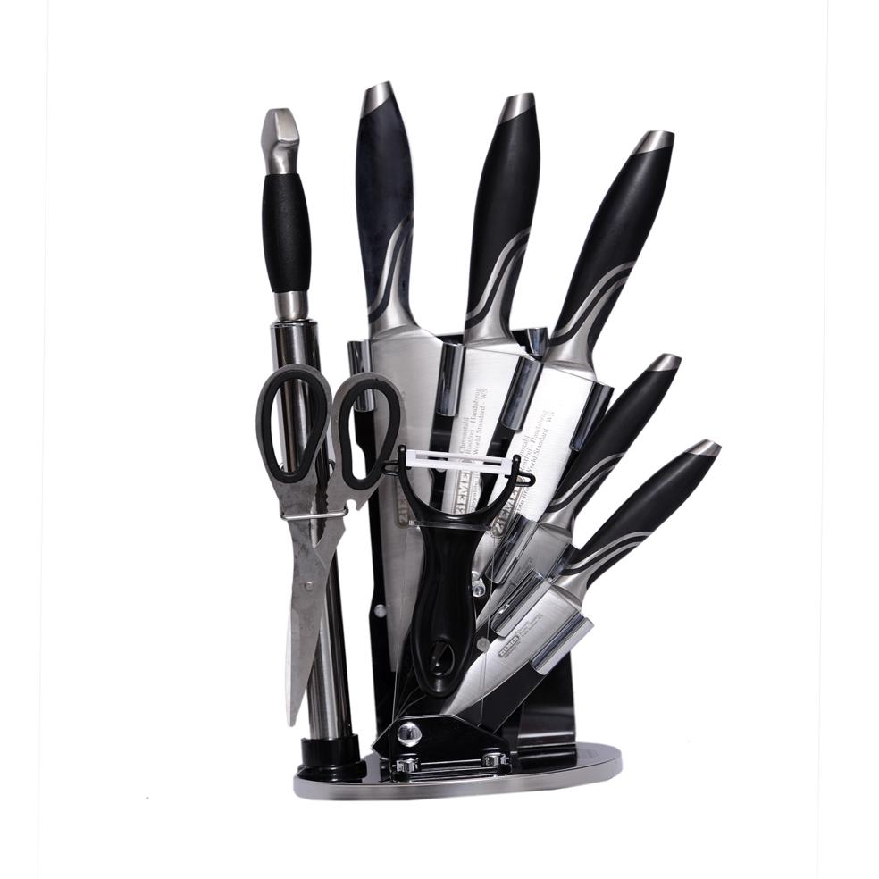 سرویس چاقو آشپزخانه 9 پارچه زیمر مدل KN313