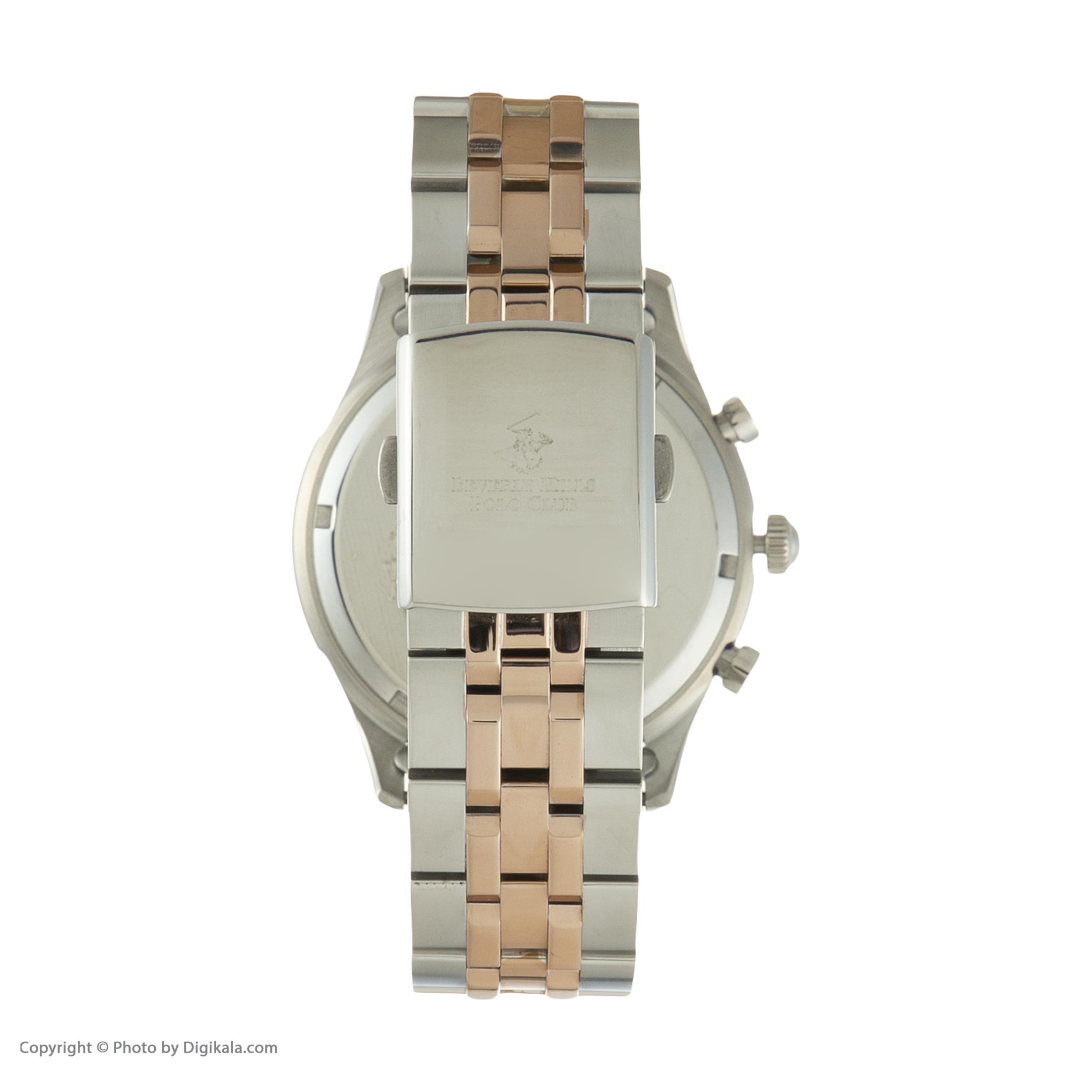 ساعت مچی عقربهای مردانه بورلی هیلز پولو کلاب مدل BP3009X.540