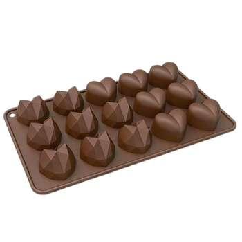 قالب شکلات طرح قلب کد Mhr-485